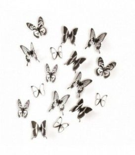 Decoración de pared mariposas