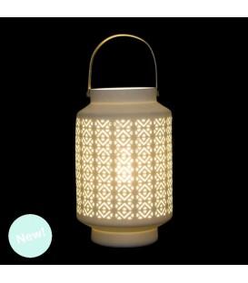 Lámpara Porcelana Forma Candel