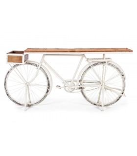 CONSOLA BICYCLE BLANCO