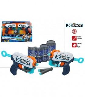 X-SHOT EXCEL PACK 2 PISTOLAS