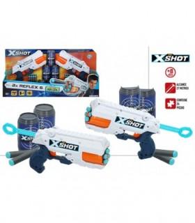 X-SHOT EXCEL PACK 2 PISTOLAS REFLEX