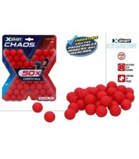 X-SHOT CHAOS BLISTER 50 BOLAS