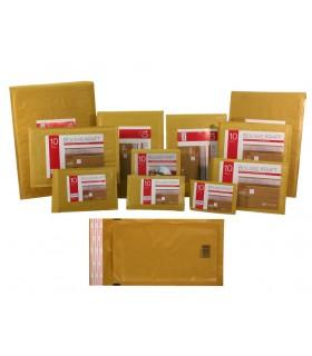 PACK 10 BOLSAS ACOLCHADAS CD`S 180X165MM