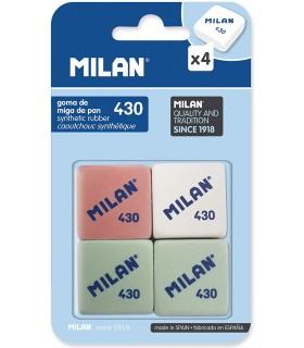 PACK 4 GOMAS MILAN 430