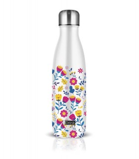 I-Drink - Botella térmica 500 ml - Flores