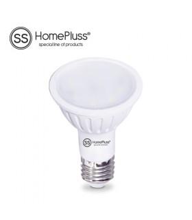 Lámpara Dicroica plástico LED SMD 6W 230V E27