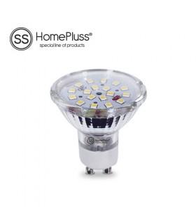 Lámpara Dicroica 18 LEDS 4,6W 230V GU10