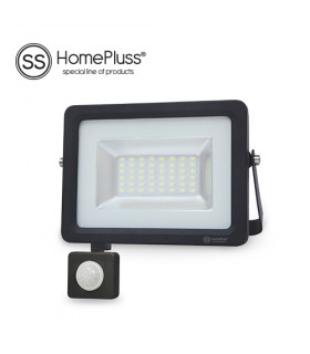 Proyector LED SMD con sensor 20W 6000K IP65
