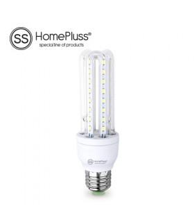 Lámpara 3U LED 8W E27 230V