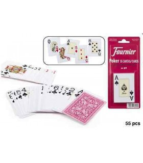 Baraja de Poker N.611 55 Cartas