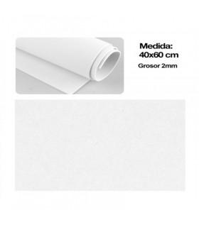 Plancha de Goma Eva 40x60cm, Blanco