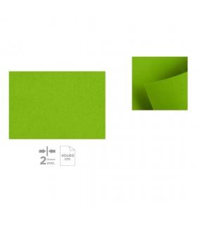 Plancha de Fieltro 40x60, Verde claro