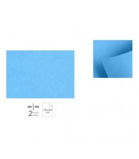 Plancha de Fieltro 40x60, Azul claro