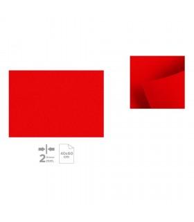 Plancha de Fieltro 40x60, Rojo