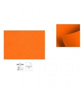 Plancha de Fieltro 40x60, Naranja