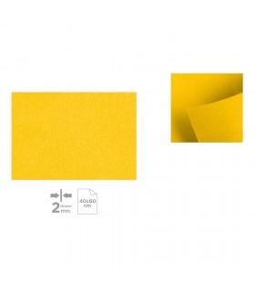 Plancha de Fieltro 40x60, Amarillo