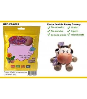 Pasta Flexible, Rosa claro, Funny Gommy