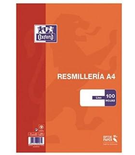 RECAMBIO OXFORD LISO100 HOJAS 90 GR