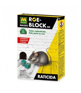 Robe-Block Raticida en bloque de gran eficacia 260gr