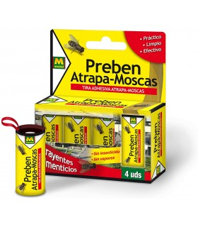 Preben- Tiras adhesivas Atrapa moscas