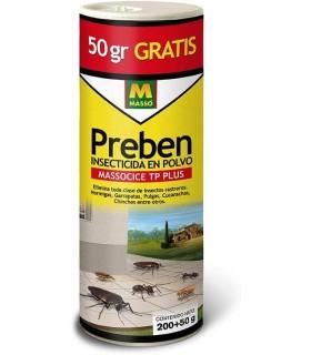 Preben - Insecticida en Polvo, Insectos rastreros
