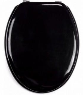 Asiento para inodoro con tapa acero inoxidable