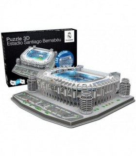 Estadio santiago bernabeu puzzle 3d