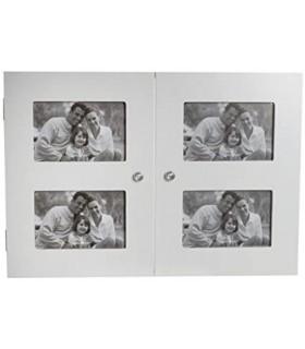 tapa contador de madera 46x32x8 4 huecos foto10x15