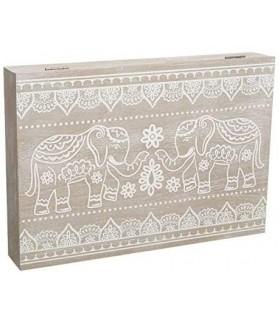Tapa de Contador Diseño Nórdico (Elefantes)