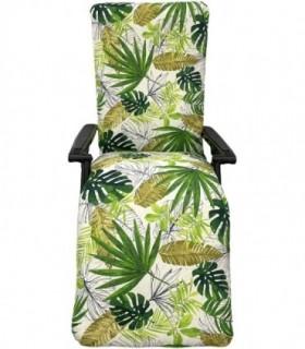 Cojín Acolchado Tumbona 180cm (Planta Verde)