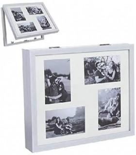 Tapa de Contador de Luz Diseño Multi fotos(Blanco)