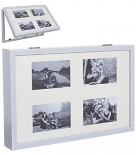 Tapa de Contador de Luz Diseño Multi fotos(Rect. Blanco)