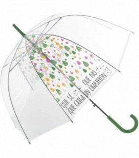 Paraguas Transparente Diseño Original Chaparrón