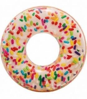 Rueda hinchable Donut de colores