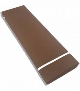 Cojín para Tumbona Exterior de Jardín (Chocolate)