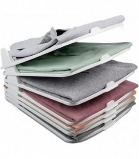 Pack 6 Organizador Camisas de Plastico Apilables