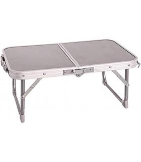 TIENDA EURASIA® Mesa Plegable de Camping/Picnic - 2 Colores - Estructura de Aluminio con Asa para Transportar