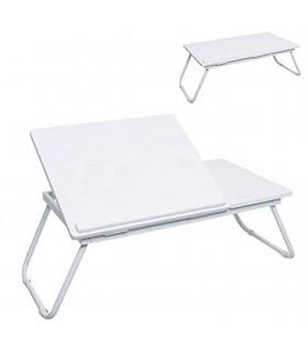 TIENDA EURASIA® Mesa Plegable Multifunción - Bandeja Elevable a Varias Alturas - 55 x 32 x 23 cm - Ideal para desayunar y Realiz