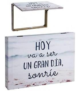 TIENDA EURASIA® Tapa Contador Sonríe Decorativas de Ventana Muebles Pegatinas Decoración del hogar - Frase Original Hoy va ser u