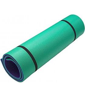TIENDA EURASIA® Esterilla Antideslizante para Realizar Deporte - Esterilla Yoga Bicolor 50-75 x 165 cm - Ideal para Yoga, Pilate