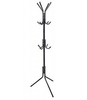 TIENDA EURASIA® Perchero de Pie Metálico - Estructura 12 Ganchos - Diseño Moderno y Sencillo - 48 D x 170 cm