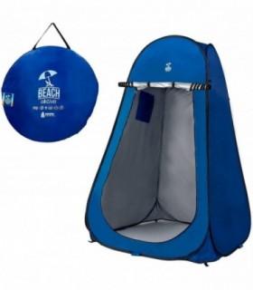 Tienda ducha cambiador para camping sin suelo AKTIVE 120x120x190 cm