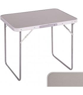Mesa Plegable de Camping/Picnic - 2 Colores - Estructura de Aluminio con Asa para Transportar