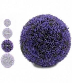 Bola Artificial de Decoracion - Seto Artificial Decorativo (Lila, 28 cm)