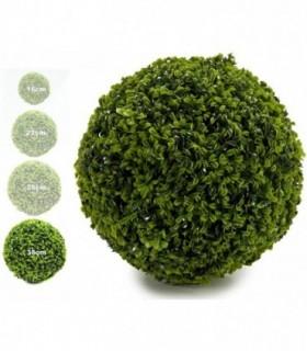 Bola Artificial de Decoracion - Seto Artificial Decorativo (Trebol, 38 cm)