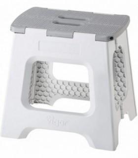 Taburete Plegable Compact de Color Gris de 32 cm de Altura (8917)