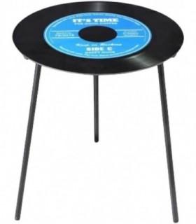 Mesas Auxiliares para Salon Ø 50 cm x h 50 cm (Azul)