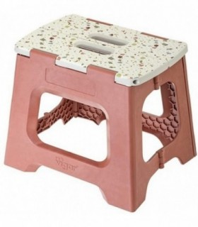 Taburete Plegable Compact Terrazzo on Top de 27 cm de Altura terrazo on top