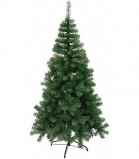 Árbol de Navidad Artificiales - Soporte de Pie Metálico (Verde Brillo, 210CM)