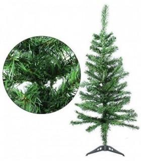 Árbol de Navidad Artificiales - Soporte de Pie Metálico (Verde, 90CM)